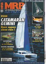 MODELE REDUIT DE BATEAU N°524 PLAN : FRA 93 / CATAMARAN GEMINI / Mr LOBSTER T2M