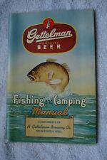 Gettelman Beer Fishing and Camping Manual 1948