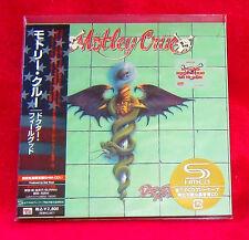 Motley Crue Dr Feelgood SHM MINI LP CD JAPAN UICY-93494