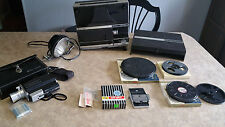 Vintage Bell & Howell Director Series Motion Picture Projector + Accessories