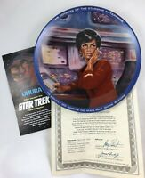 1983 Hamilton Star Trek Collectors Plate Lot of 6 Different Mint in Box with COA