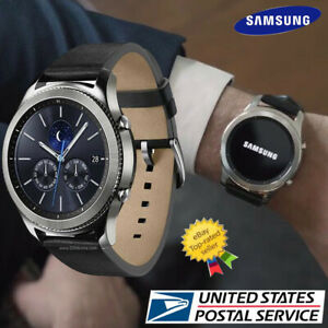 Samsung Gear S3 Classic SM-R770 Wi-fi Bluetooth Smart Watch w/ Leather Band