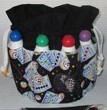 Bingo Bag  BLACK  top  8 pockets