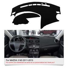 For MAZDA 3 M3 2010-2013 DashMat Dashboard Mat BK Sun Cover FLY5D Car Interior