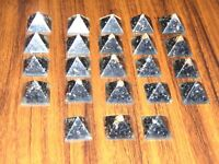 Wholesale Tourmaline Crystal Mini Orgonite Pyramid Natural Gemstone hand Craft
