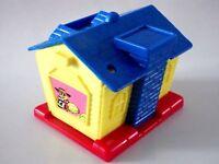 Jouet Toys figurine Mc donalds 1993 Maison House 7 x 6 x 5 cm