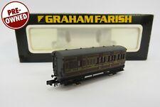 More details for n gauge farish 0671 vintage 4 wheel coach brake end lms