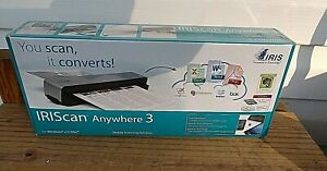 IRIS 457485 Scanner New in Factory Sealed Box