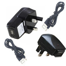 UK 5V 1A Power Supply Charger With USB Cable for Kocaso M1050S Tablet PC