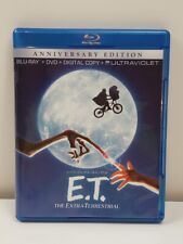 E.T. The Extra-Terrestrial [Blu-ray] DVD and Blu-RAY   VGC