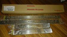 Genuine Honda CRV Gen 4 2012-16 4x Door Side Step Garnish Scuff Plate Sill Trim