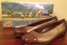 NIB $153 SAS COCO - M Bronze / Brown Flats TRIPAD COMFORT Shoes Womens 7 N