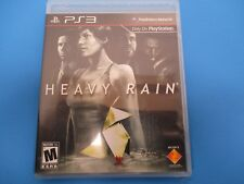 PlayStation 3,Heavy Rain, Rated M, 2009 Your Smallest Decision Change Everything