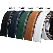 10 Styles Mens Replacement Belts 3.5cm Genuine Leather Without Automatic Buckles