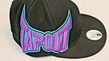 Tapout Men's Colorful Embroidered Hat Flat Bill Stretch Fit Cap L/XL