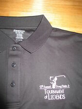 Reebok DOUG FLUTIE Jr 13th TOURNAMENT of LEGENDS Embroidered (2XL) Polo Shirt