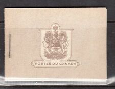 Canada Booklet #25 (French) XF Mint Complete
