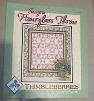 Thimbleberries Sangria Hourglass Throw by Lynette Jenson ( 2007) #LJ 92363