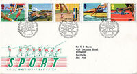 15 JULY 1986 COMMONWEALTH GAMES ROYAL MAIL FIRST DAY COVER BUREAU SHS (a)
