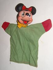 VINTAGE HAND PUPPET MINNIE MOUSE