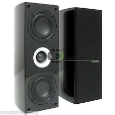 New Pair of Pinnacle BD 200 Audiophile 180W LCR Home Theater Hi-Fi Speakers