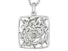 LADY DUFF'S FLOWER PENDANT W CHAIN FROM THE TITANIC JEWELRY COLLECTION (Tm)
