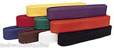 Martial Arts Karate Judo TaeKwonDo All colors.  BELT  c011