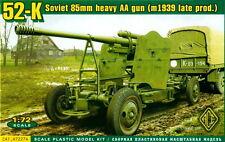 ACE 1/72 72274 WWII Soviet 52-K 85mm Heavy AA Gun Late Prod.