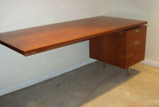 HERMAN MILLER – GEORGE NELSON CSS MID CENTURY MODERN DESK W/ RECESSED STYLE PULL