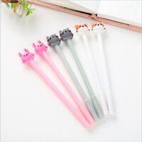 0.5mm Cute Kawaii Plastic Ink Gel Pen Cartoon Cat Pens For School Writing Office