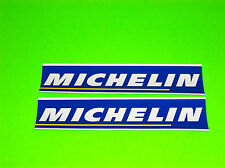 MICHELIN TIRES CAR TRUCK MOTOCROSS ATV QUAD UTV MOTORCYCLE DECALS STICKERS BLUE