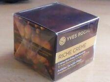 Yves ROCHER * RICHE CREME Anti-Rides 30 Huiles précieuses 1000 roses* 50 ml*NEUF