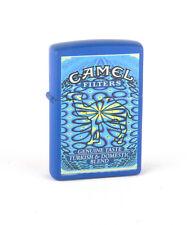 """Zippo 1999 The """"19"""" Camel Kaleidoscope Lighter (Blue Matte) Z555"""