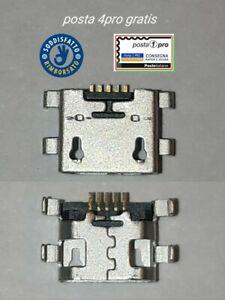 CONNETTORE MICRO USB RICARICA PER XIAOMI REDMI 4A e REDMI 4X CARICA