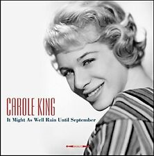 CAROLE KING IT MIGHT AS WELL RAIN UNTIL SEPTEMBER - BLUE VINYL LP