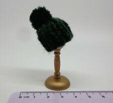 1:12 Scale Bobble Hat Dolls House Miniature (Deep Green)