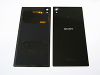 Genuine Sony Xperia Z1 C6903 L39h Back Battery Cover Glass Black With NFC GradeA