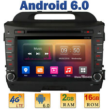Octa Core 2GB RAM 4G Android 6 Car DVD Player Radio For KIA Sportage R 2010-2015