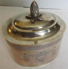 Original Post - 1940 Collectable Brass Metalware Boxes