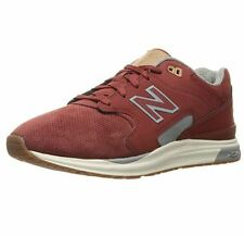 New Balance ML1550 Sz US 13 D Clay Red Suede Running Sneakers Mens Shoes
