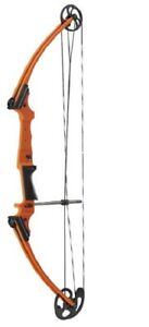New Mathews Genesis Orange One Cam Youth Bow LH Archery Kit Model# 11420