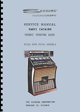 MANUALE COMPLETO (manual) JUKEBOX SEEBURG MODELS DS100 and DS160 (juke box)