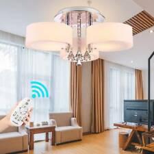 Modern LED Crystal Ceiling Lights Chandelier Kitchen Living Room Light 3 Way