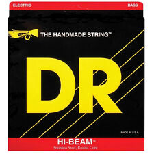 DR MR6-130 Hi-Beam Medium 6-String Electric Bass Strings (30-130) +Picks