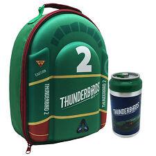 Thunderbirds - Thunderbird 2 EVA 3D borsa porta pranzo & Lattine Bibite NUOVO
