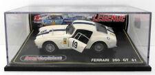 Voitures de courses miniatures blancs en résine pour Ferrari