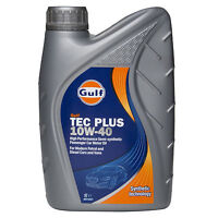 Gulf Tec Plus 10W-40 Semi Synthetic Engine Oil 10W40 4 Litres or 1 Litres