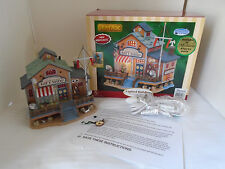2006 Lemax Village Lighted Stowaway Nautical Gift Shop  Plymouth Village