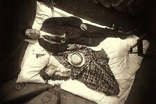 "1910 True CRIME SCENE Murdered Couple on Bed New York NY 4""x6"" Reprint Photo NY4"