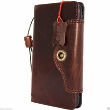 Genuine real retro leather Case fo apple iphone 6s plus book wallet cover holder